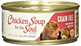 Chicken Soup for the Soul 819239011387 Grain-Free Salmon Recipe Pet Food, One Size/24/5.5 oz