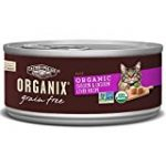 Organix Chicken & Chicken Liver Pate Recipe for Adult Cats, 5.5-Ounce Cans (Pack of 24)