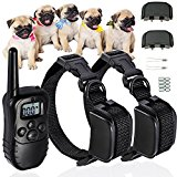 NEW Pet Dog Training Collar Rechargeable Electric LCD 100LV Shock (Two Collars)