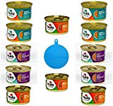 Nulo Freestyle Grain Free Minced Cat Food in Gravy in 3 Flavors – Salmon & Turkey, Beef & Mackerel, Turkey & Duck – 12 Cans Total, 3 Oz each – Plus 1 Silicone Cat/Dog Food Can Cover – 13 Items Total